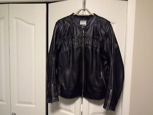 Womens Harley Davidson Jackets and Three Riding One's