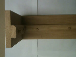 Solid oak Internal door frames, door sets architrave & Skirting