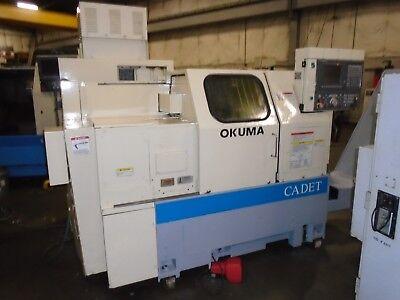Okuma Cadet Lnc8 Cnc Lathe W Osp700l Control
