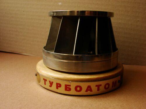 Russian Ukrainian Soviet desk model Turbine nuclear power plant steel Chernobyl
