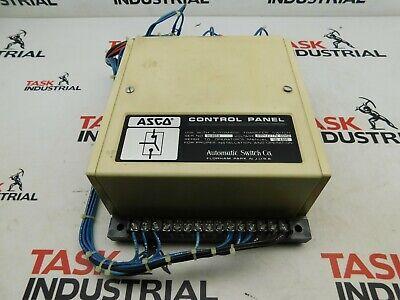 Asco Js299-300-7n Automatic Transfer Switch 480y277v 60hz