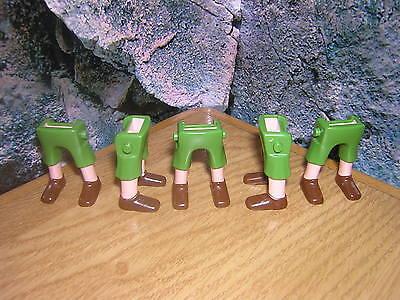 ( A 13 / 15 ) 5 x  Beine kurze Hose grün Garde Soldaten ACW Piraten Western