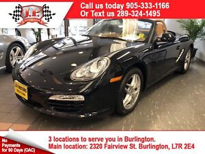 2012 Porsche Boxster Manual, Leather, Convertible, 26, 000km