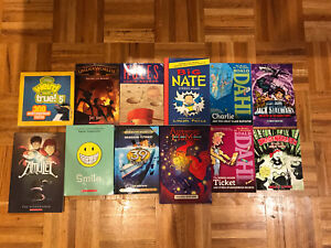 Lot of books for teenagers