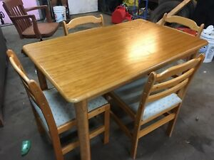 Small dinette table set