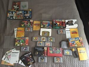 Nintendo 64 Games and 5 GameCube Games!