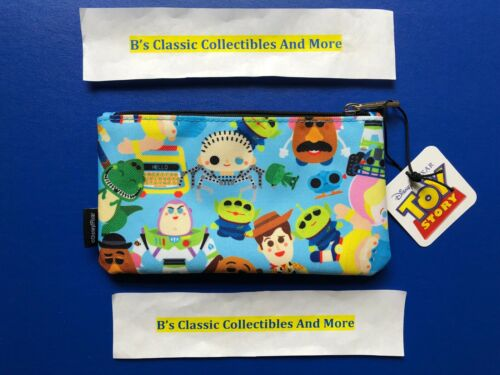 Loungefly Toy Story Zip Pouch, Cosmetic/Coin Bag, Pencil Pouch, Disney New