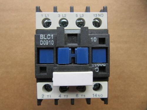 Brah Electric BLC1-09 Contactor 25A BLC1D0910 Coil 120V NEW!!!