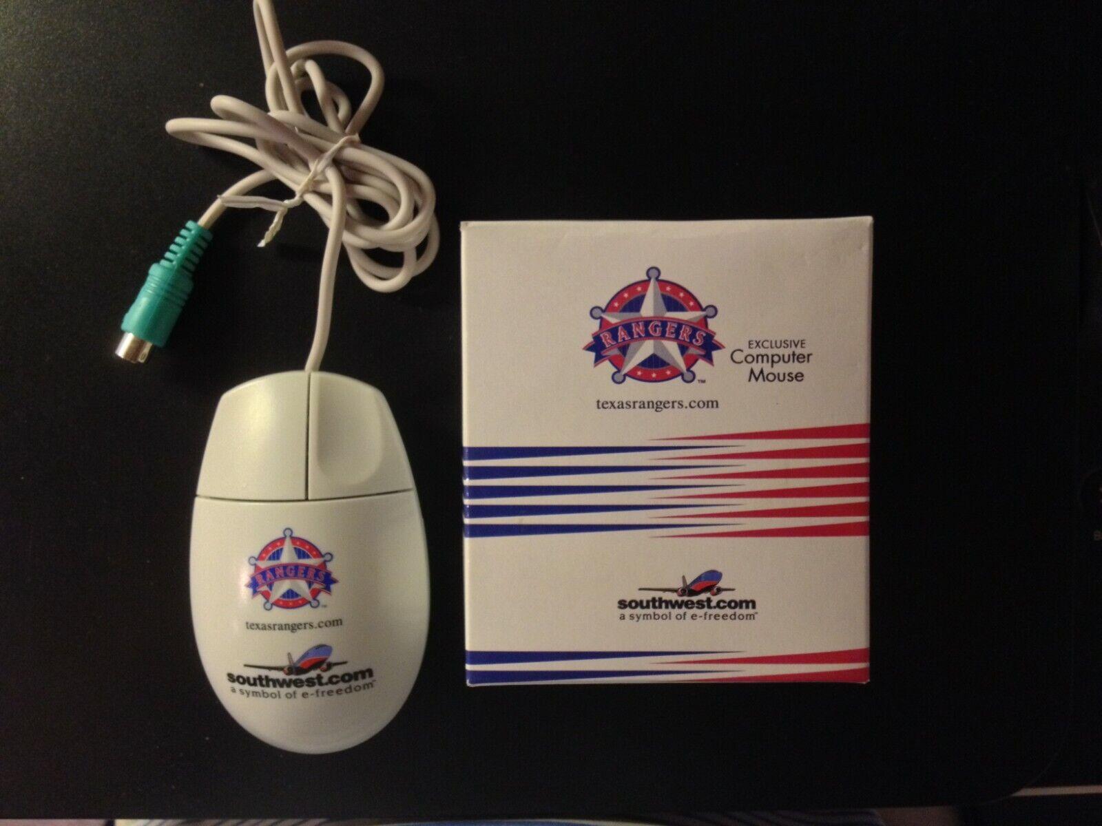 TEXAS RANGERS & SOUTHWEST AIRLINES PC Mouse MLB Regular Seas