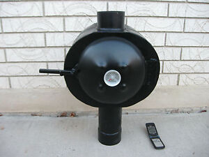 Details about Grover Chimney Oven - Used on a Tent Stove or Wood Stove