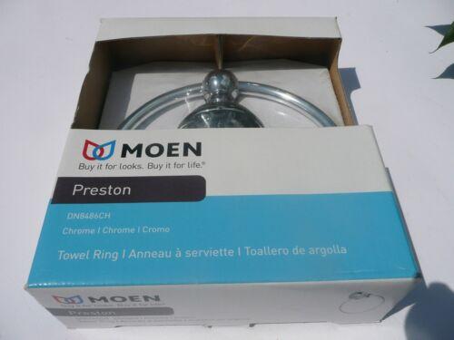 Moen - Preston - Towel Ring - Chrome - DN8486CH - New