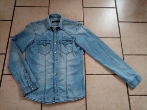 Chemise homme kaporal taille m en jean bleu clair tbeg