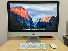 """8GB Apple desktop iMac 27"""", Turbo 3.7GHz, M'Office 2016 Welshpool Canning Area Preview"""