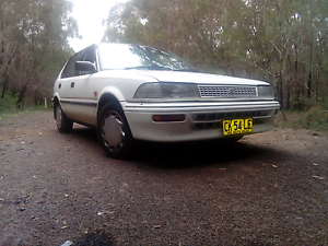 Toyota carolla 1993 $1200 ono 6 mnth rego Raymond Terrace Port Stephens Area Preview