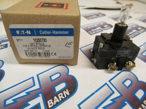 Cutler Hammer 10250T80, Series A2, Light Module, 120 Volt- NEW-B