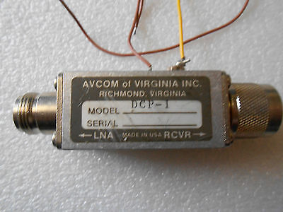 Avcom Of Virginia Inc. Dcp1 Power Injector Block
