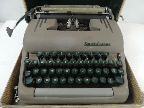 Antique Smith Corona Silent Manual Typewriter