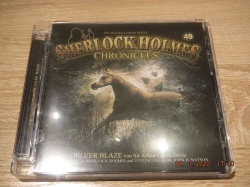 CD Hörspiel SHERLOCK HOLMES CHRONICLES (49) Silver Blaze