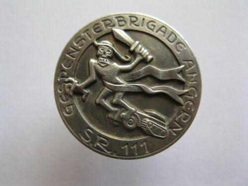 WW2 11 Panzer Division Wehrmacht Badge Gespensterbrigade Angern 100% ORIGINAL!!!