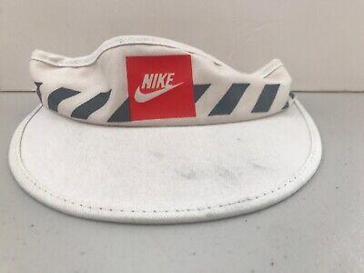 Vintage Nike Sun Visor 80s 1980s Hat Tennis Vtg