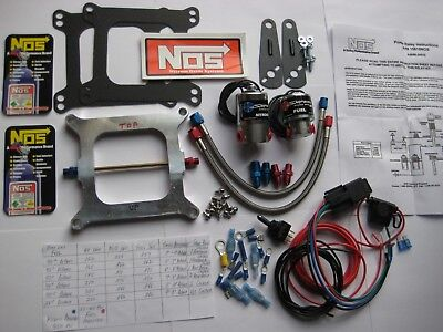 *CHECKOUT OFFER! *NEW NOS/NX/EDELBROCK/ HOLLEY 4150 NITROUS PLATE KIT 50-250HP