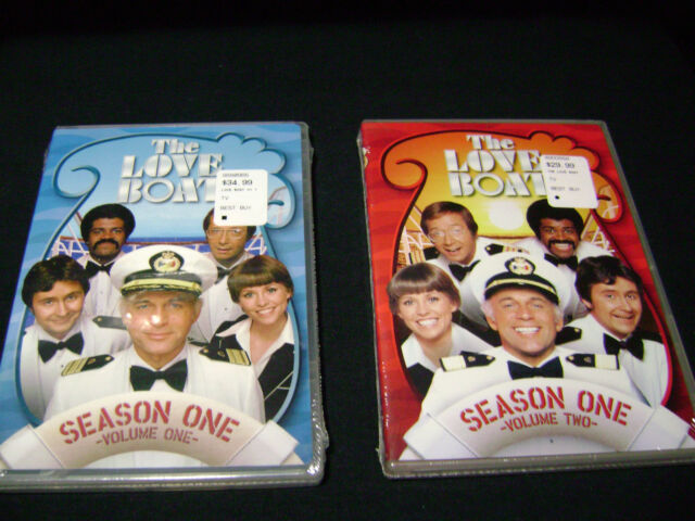 The Love Boat - Season ONE  ( VOLUME  1   SEASON 1   VOLUME 2 )  (DVD, 2008)