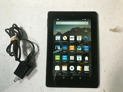 Amazon Kindle Fire HD 7 4th Gen 16GB Wi-Fi Tablet SQ46CW  Black