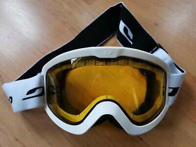 Julbo Eris Cat 1 Double Lens Yellow White Ski Snowboard Goggles