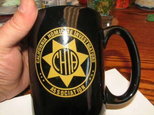 California Homicide Investigators Association Police Detectives 1992 coffee mug