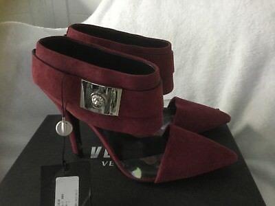 Versace Versus Bordeaux/Nickel  Women's Size 7US Shoes