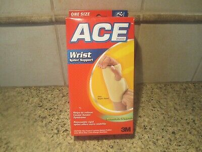Ace, Right Hand, Wrist Splint Support, Helps Relieve Carpal Tunnel Syndrome Carpal Tunnel Syndrome Wrist Support