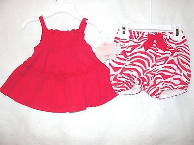 Infant Girls First Moments Two Piece Pink Layette Set - Size 3 mos. - NWT
