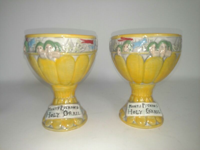 Monty Pythons Holy Grail Mugs Cups Chalice Set