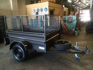 "7X4X20"" Heavy duty trailer 600mm  CAGE ( FREE REGO) Mortdale Hurstville Area Preview"