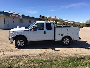 2011 Ford F-350 service body truck 4x4 6.2 v8