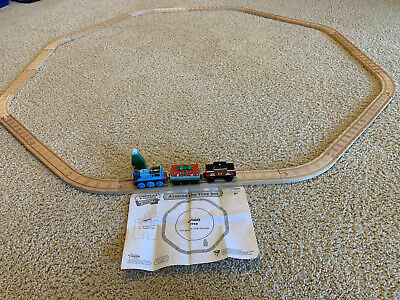 Thomas And Friends Wooden Railway Around The Tree Set Working plus Extra Track!