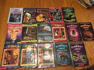 Children mystery chapter books