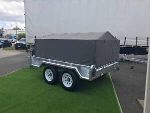Premium Trailer Cage Canvas Cover 6x4 / 7x5 / 8x5 600mm / 900mm Sumner Brisbane South West Preview