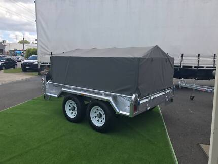 Premium Trailer Cage Canvas Cover 6x4 / 7x5 / 8x5 600mm / 900mm Sumner Brisbane South West Preview