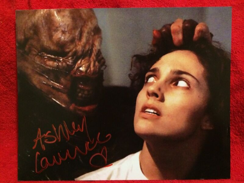 Signed ASHLEY LAURENCE HELLRAISER Kirsty Actress Original vintage photo Headshot