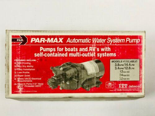 JABSCO PAR-MAX 3 Automatic Water Pump w/ 12 Volt DC Motor, 3.4GPM, 30600-0012