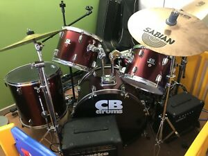 Drum set in good condition... $350obo