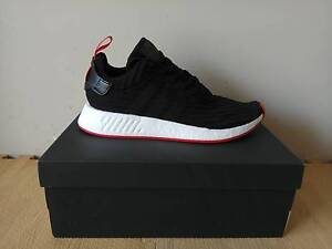 NMD R2 Black/Black-Red - $350 neg Bentley Canning Area Preview