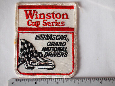 Winston Cup Series Nascar Grand National Drivers Racing Patch  -