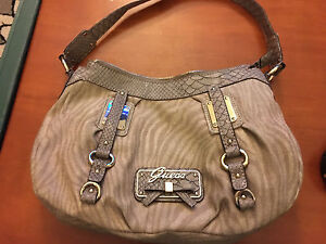 Guess taupe purse