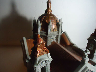 DEPT. 56  58919 CATHEDRAL OF SAINT PAUL IN ORIGINAL BOX Copper Colored Roof