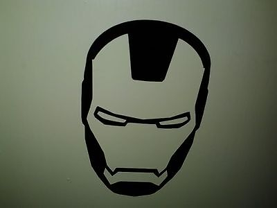 Ironman Marvel superhero symbol decal sticker auto laptop helmet etc