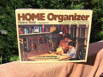 Home Organizer Heavy Duty 14 Peg Hook Kit 34 Pcs.peerless Chain Co.new