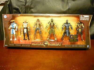 Jazwares Mortal Kombat Raiden Nightwolf Sub-Zero Scorpion Baraka Reptile 4 inch - Baraka Mortal Kombat