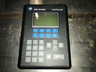 Allen-bradley Panelview 300 2711-k3a5l1 Ser-a Rev-b Frn-4.10with Warranty